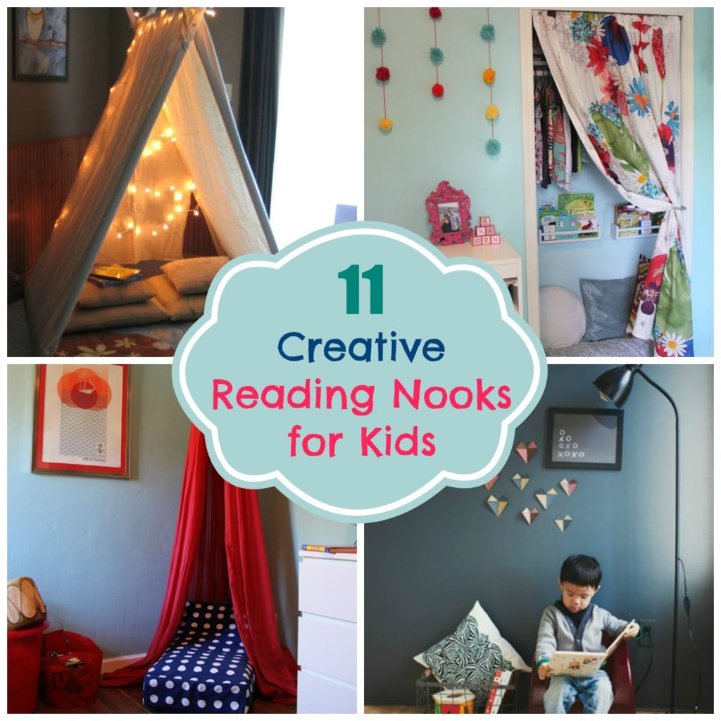 Clever And Creative Ideas For The Ultimate Playroom: 11 Creative Reading Nooks For Kids • Color Made Happy