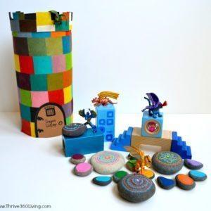 Magic Dragon Painted Rocks & Storage Tower thumbnail