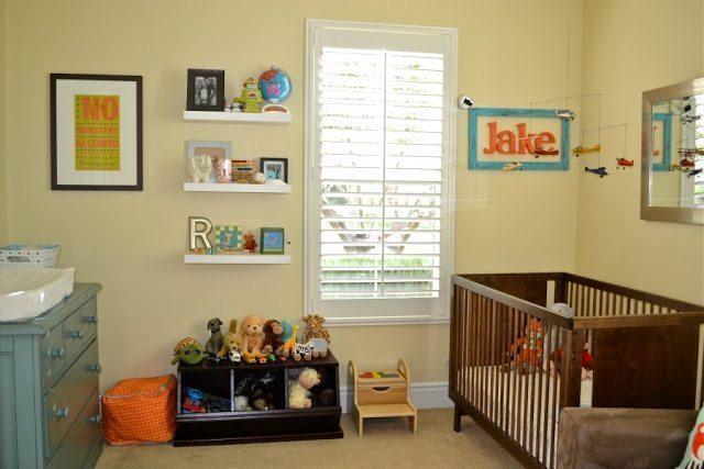 Vintage Inspired Nursery Color Made Happy