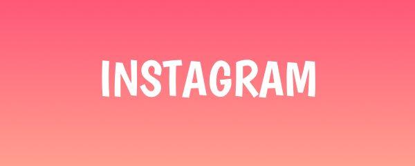 Instagram banner link