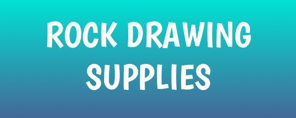 Rock Drawing Supplies