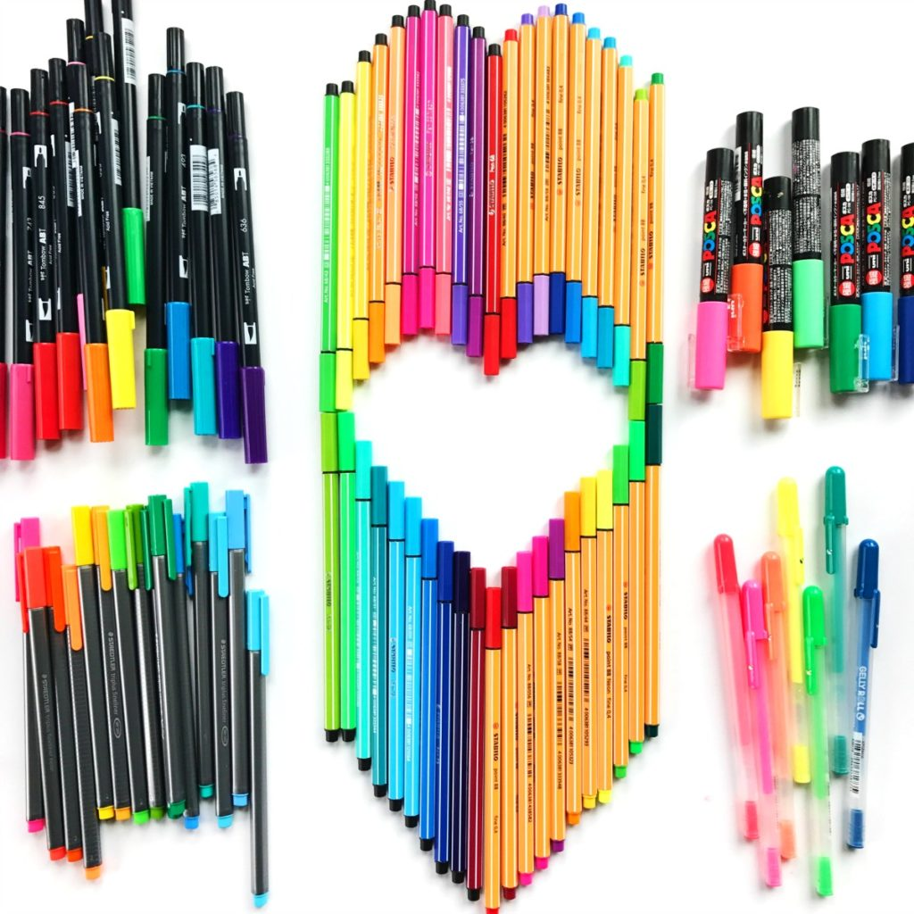 Best Markers and Pens for drawing, doodling and coloring