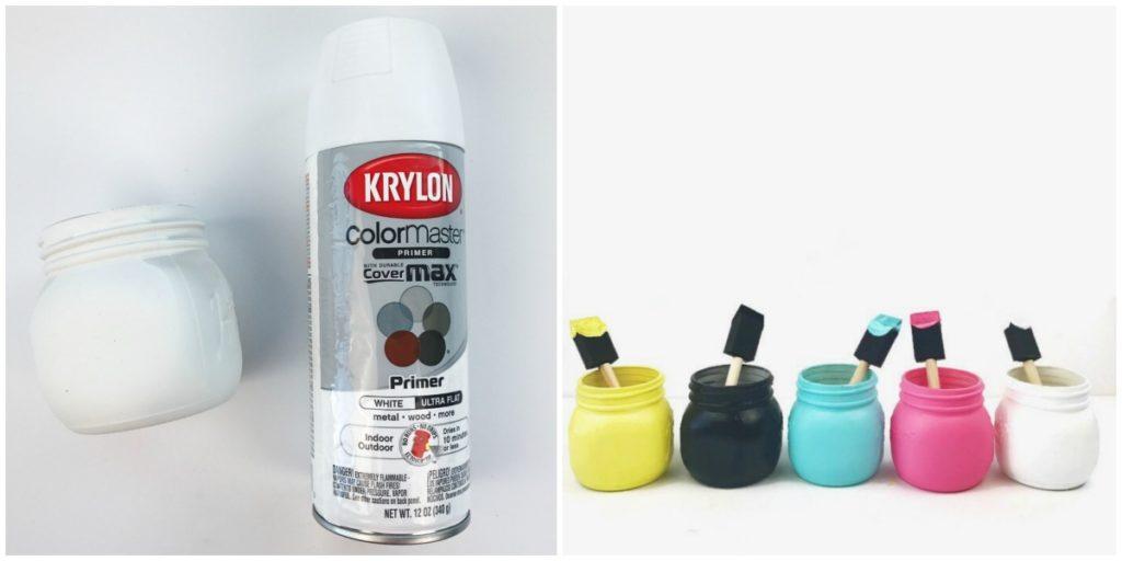 Kylon Primer for painted mason jars