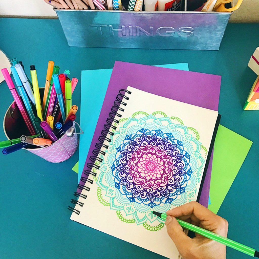 Stabilo 68 Mandala • Color Made Happy