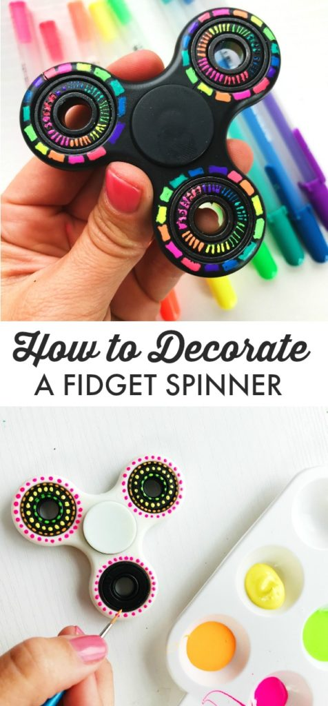 How to DIY a fidget spinner