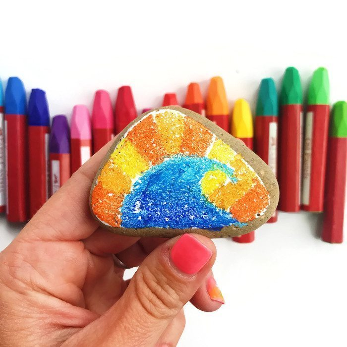 Rock Painting - 4 creative ideas and supplies