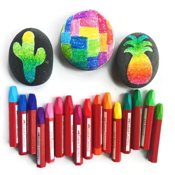 Rock Painting - Four Creative Ideas & Supplies