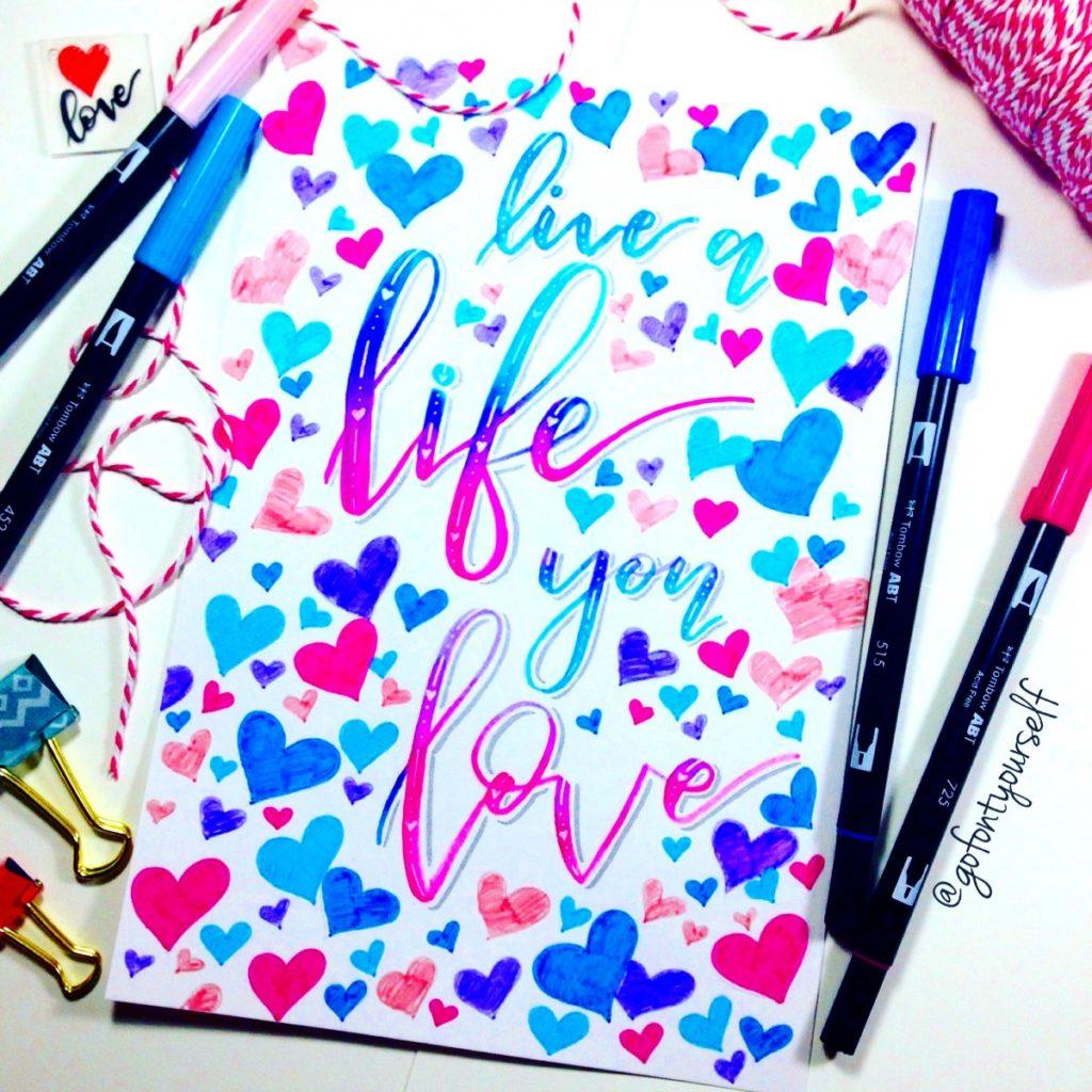Tips for Beginning Hand Lettering