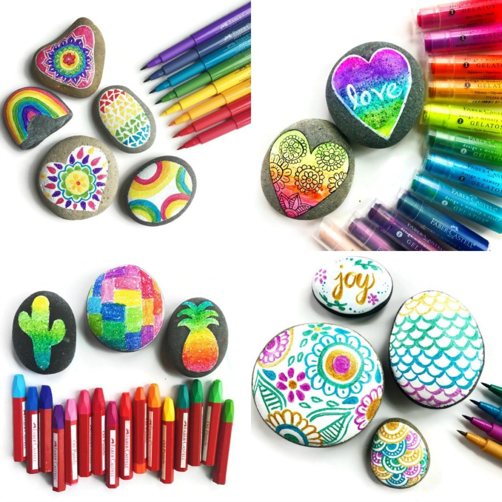 Rocking Painting Supplies And Creative Ideas Color Made