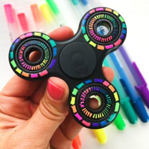 DIY Fidget Spinner Colorful Designs thumbnail