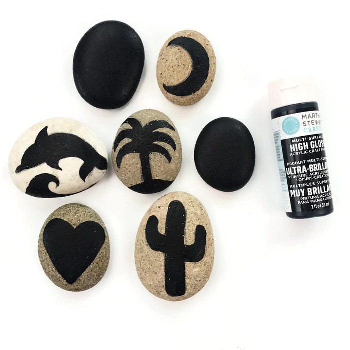 Best paint for making painted rocks