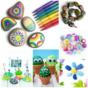 Rock Crafts for Kids – 25 Creative Rock Painting Ideas thumbnail