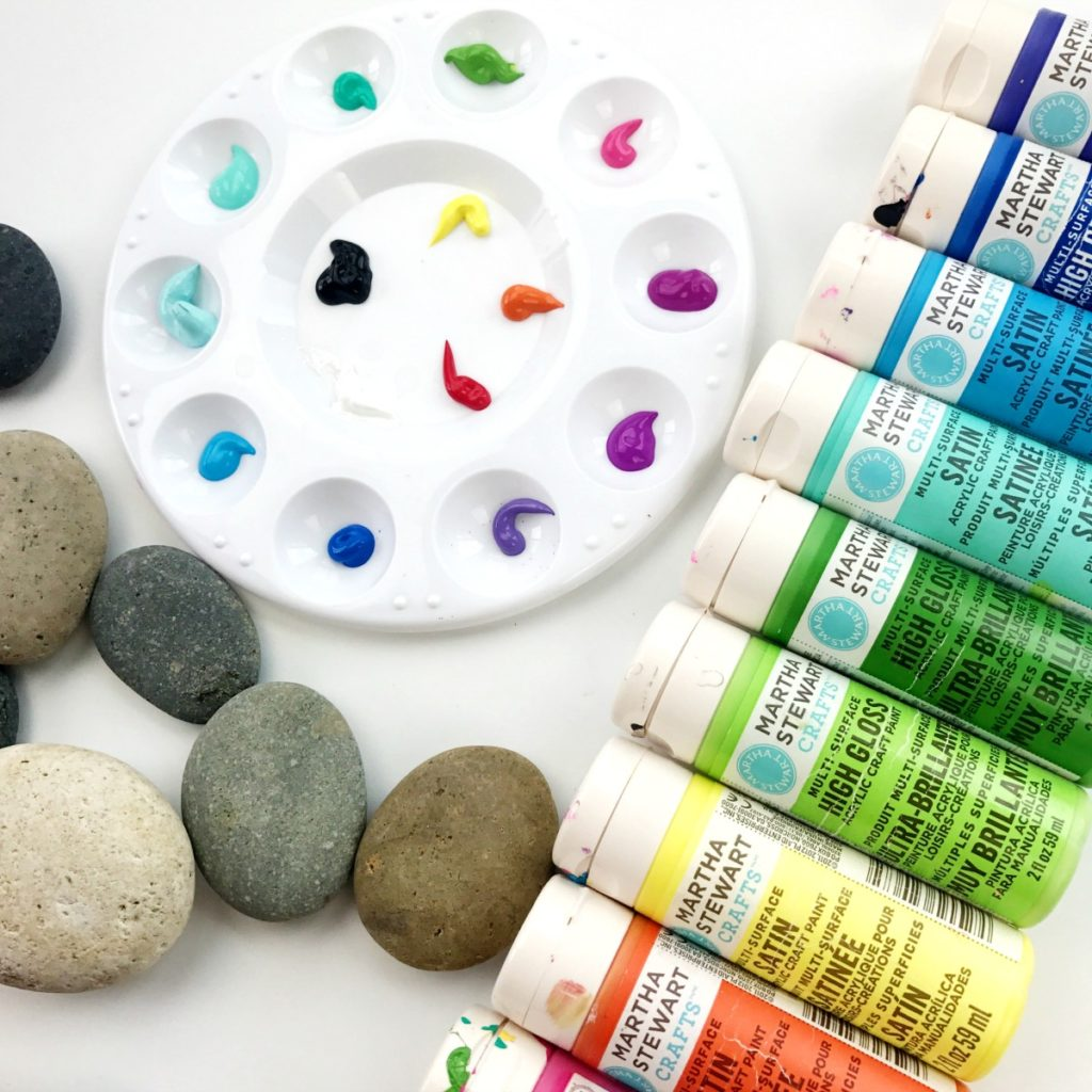 What Kind Of Paint To Use On Rocks