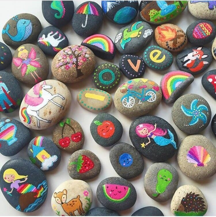Painting Rocks - Best Supplies for Painting and Decorating Rocks