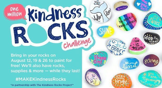 Michaels Kindness Rock challenge