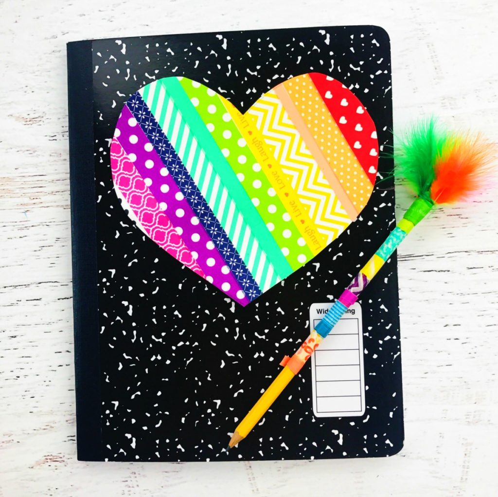 DIY Notebook and Back to School Supplies