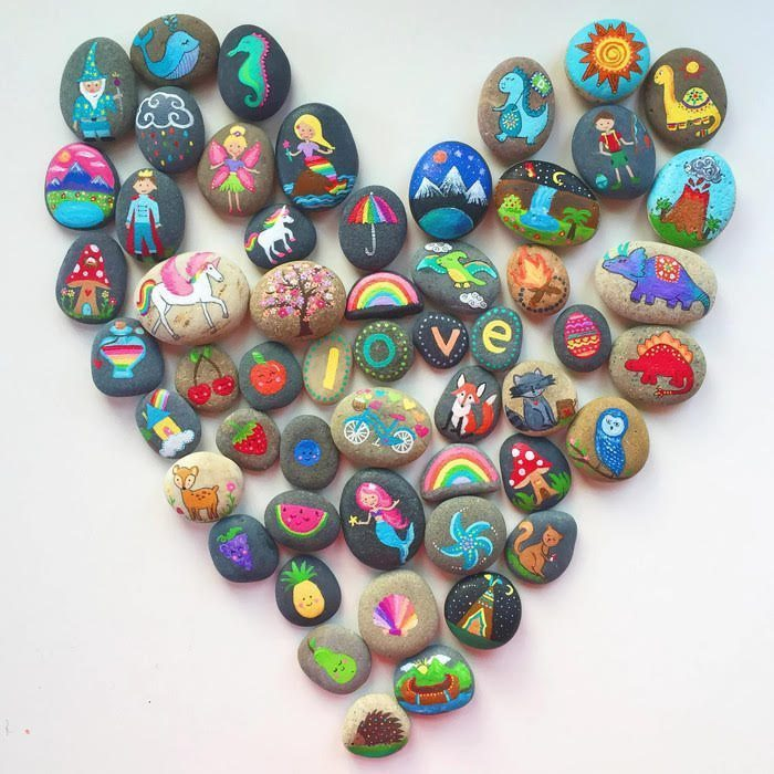 Michaels store kindness rocks event