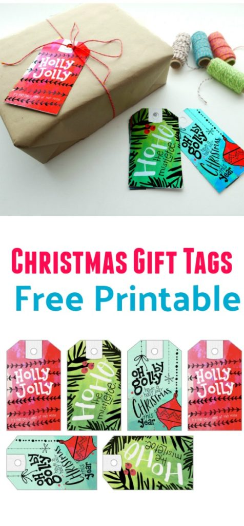 Free Printable Christmas Gift Tags Download