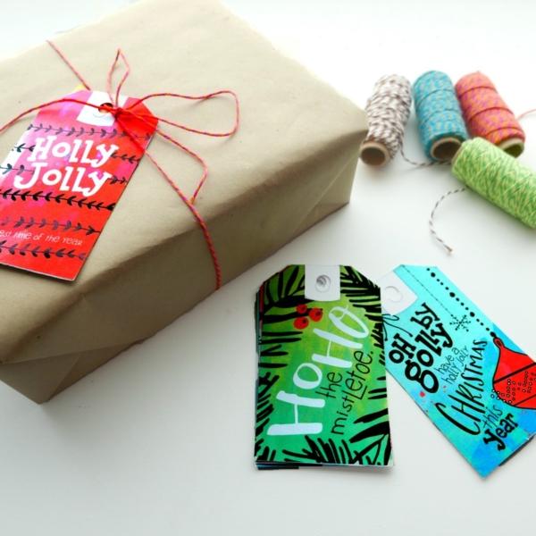 Free Printable Christmas Gift Tags Download