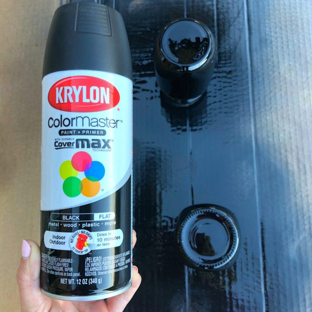 Mason Jar Decorating Spray Primer