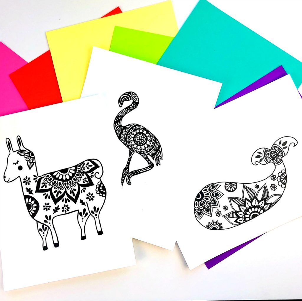 DIY Foil Art Prints
