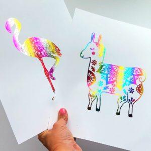 DIY Foil Art Prints – How to Make Your Own Foil Art thumbnail