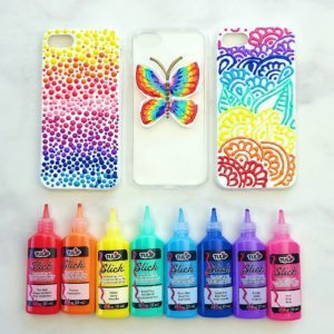 Puffy Paint DIY Phone Cases thumbnail