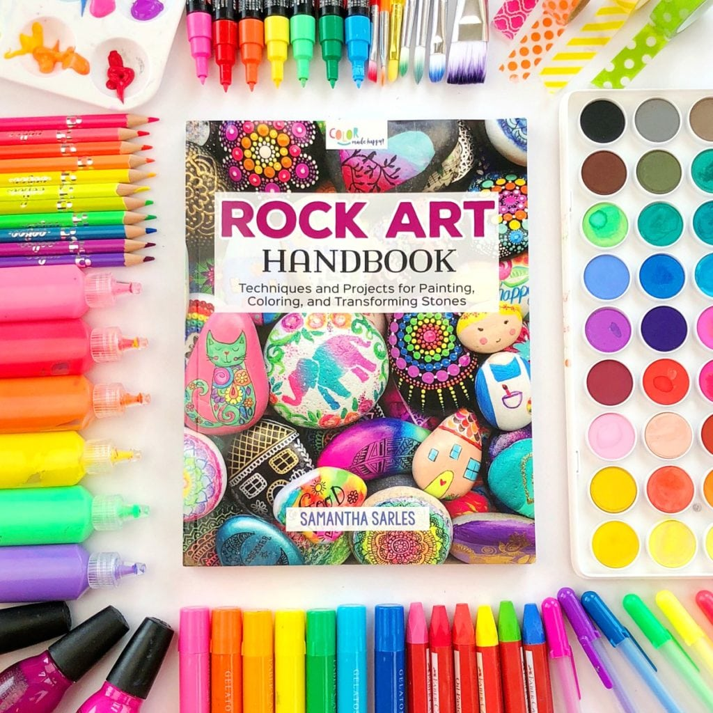 Rock Art Handbook - A complete guide to painting and decorating rocks