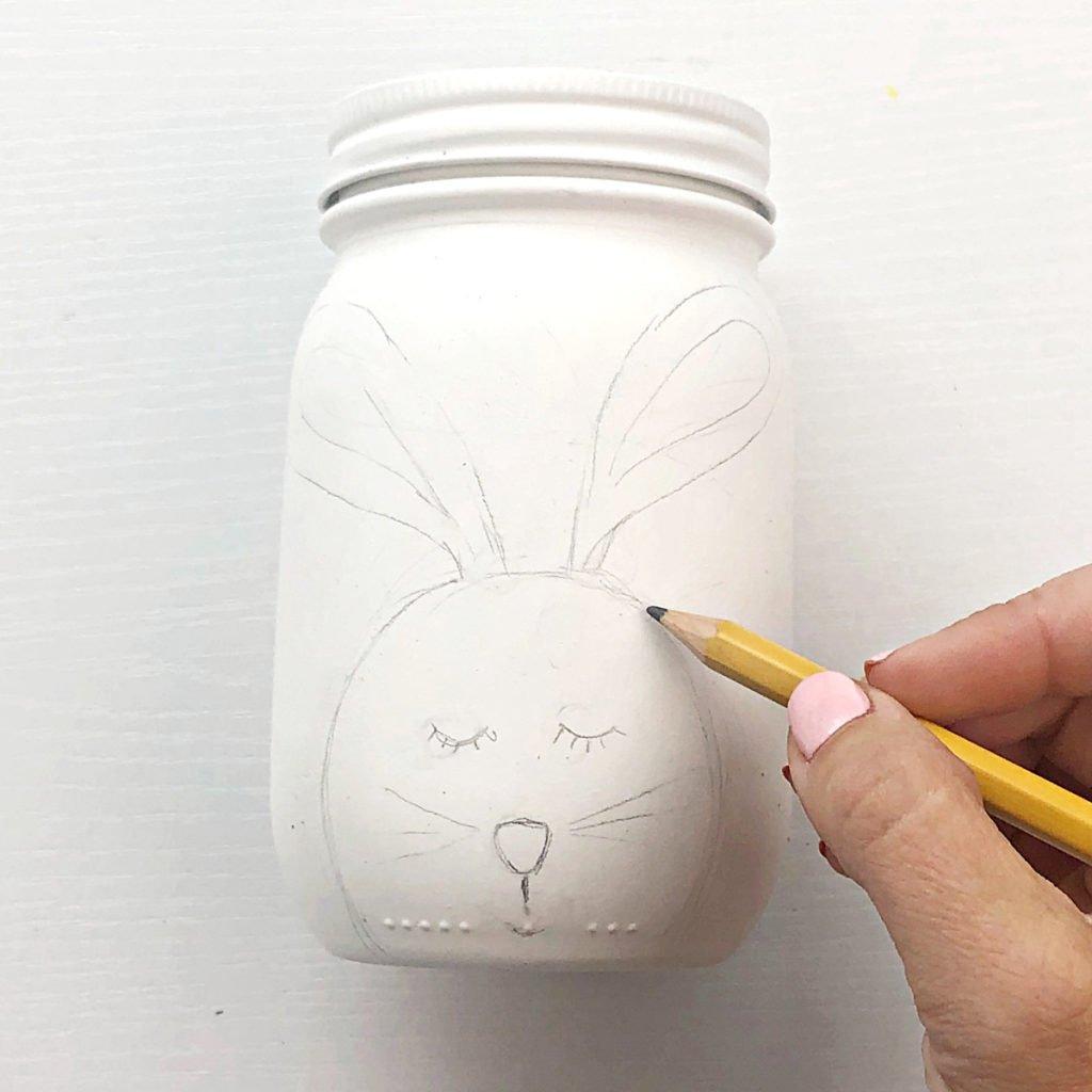 Easter Mason Jars