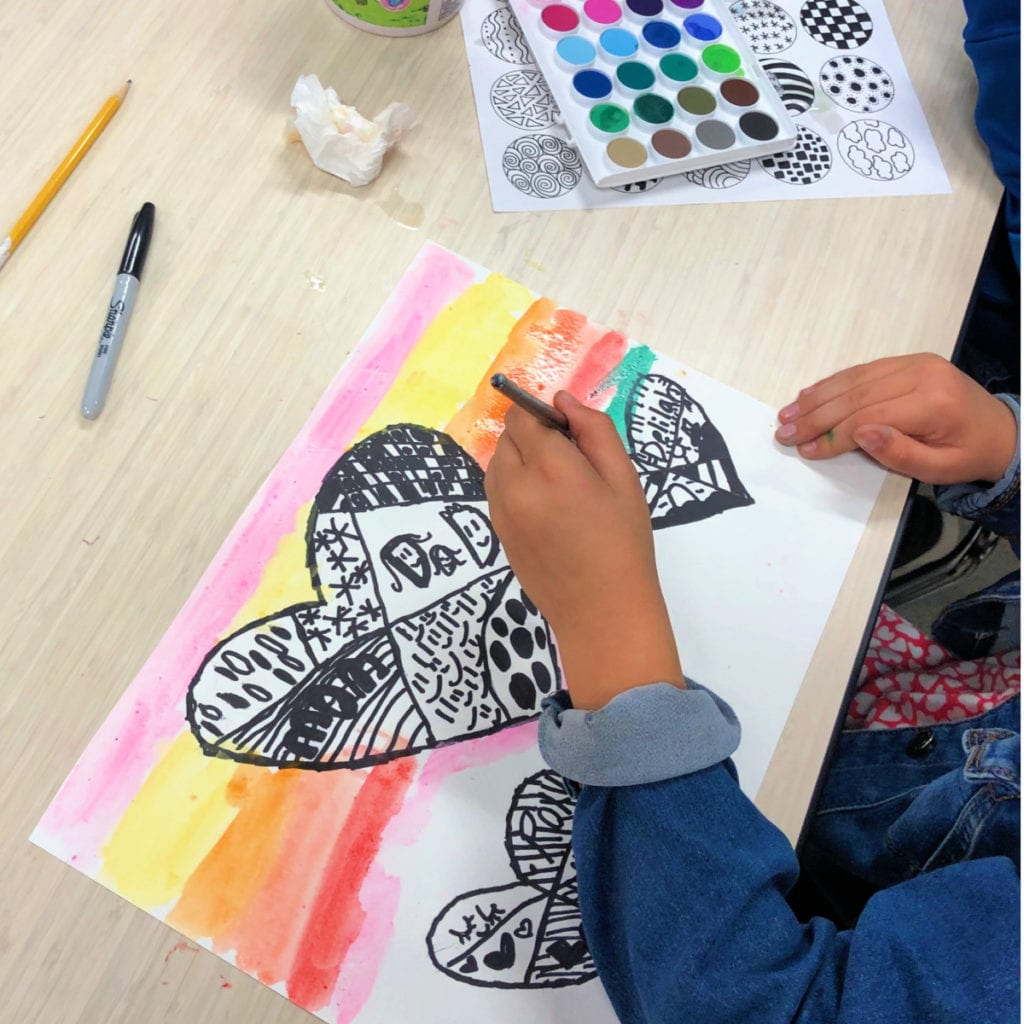 Zentangle Art For Kids Project Color Made Happy