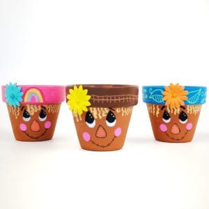 Scarecrow Flower Pot Craft thumbnail