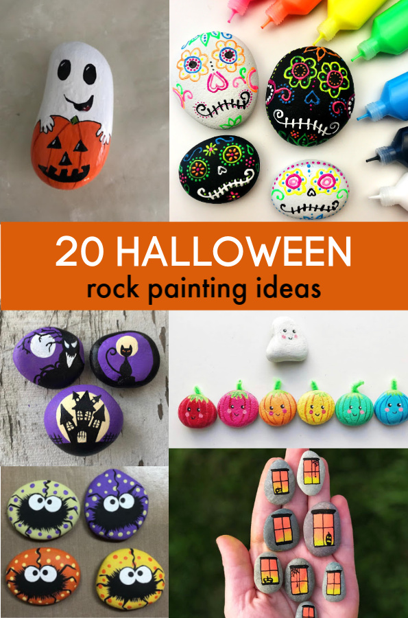 20 Halloween Rock Painting Ideas