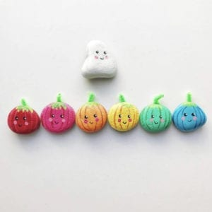 20 Halloween Painted Rocks thumbnail