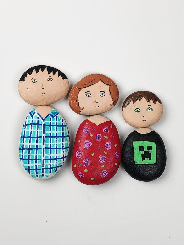 Painted Rock People