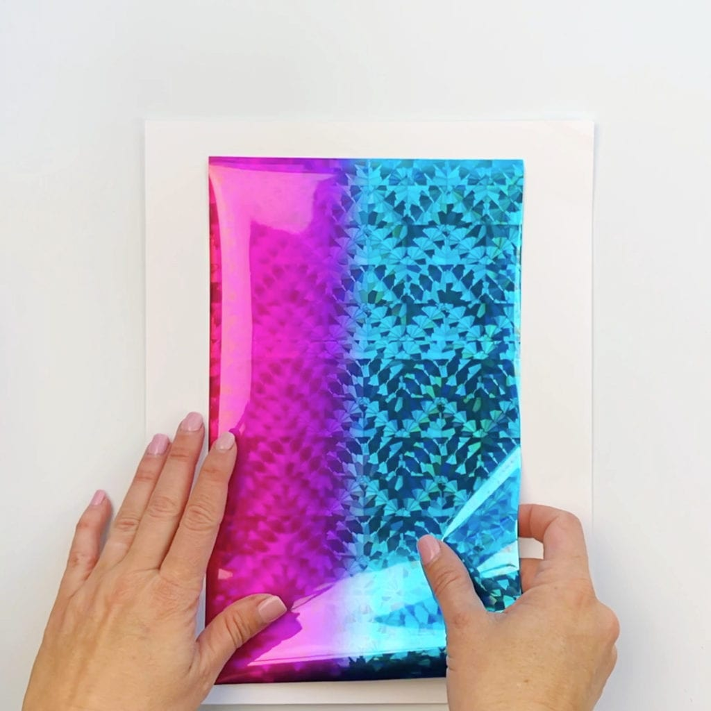 How to Make Foil Art Prints