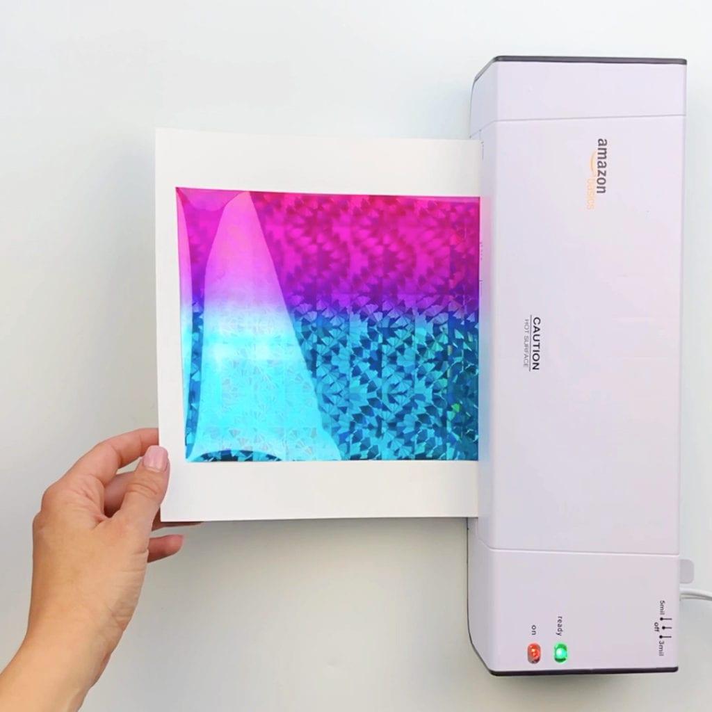 How to Make Foil Art Prints
