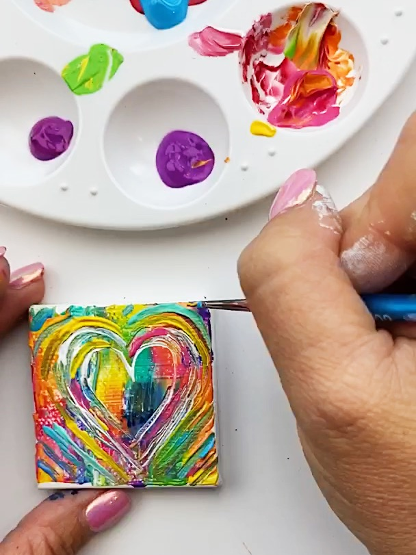 How to Create Beautiful Heart Art Projects