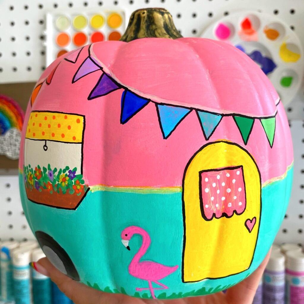 Camper Pumpkin Tutorial