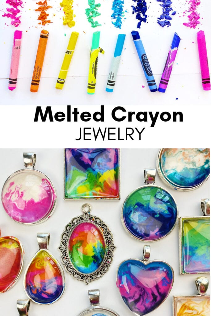 How to make melted crayon jewelry