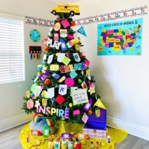 Learning School Christmas Tree