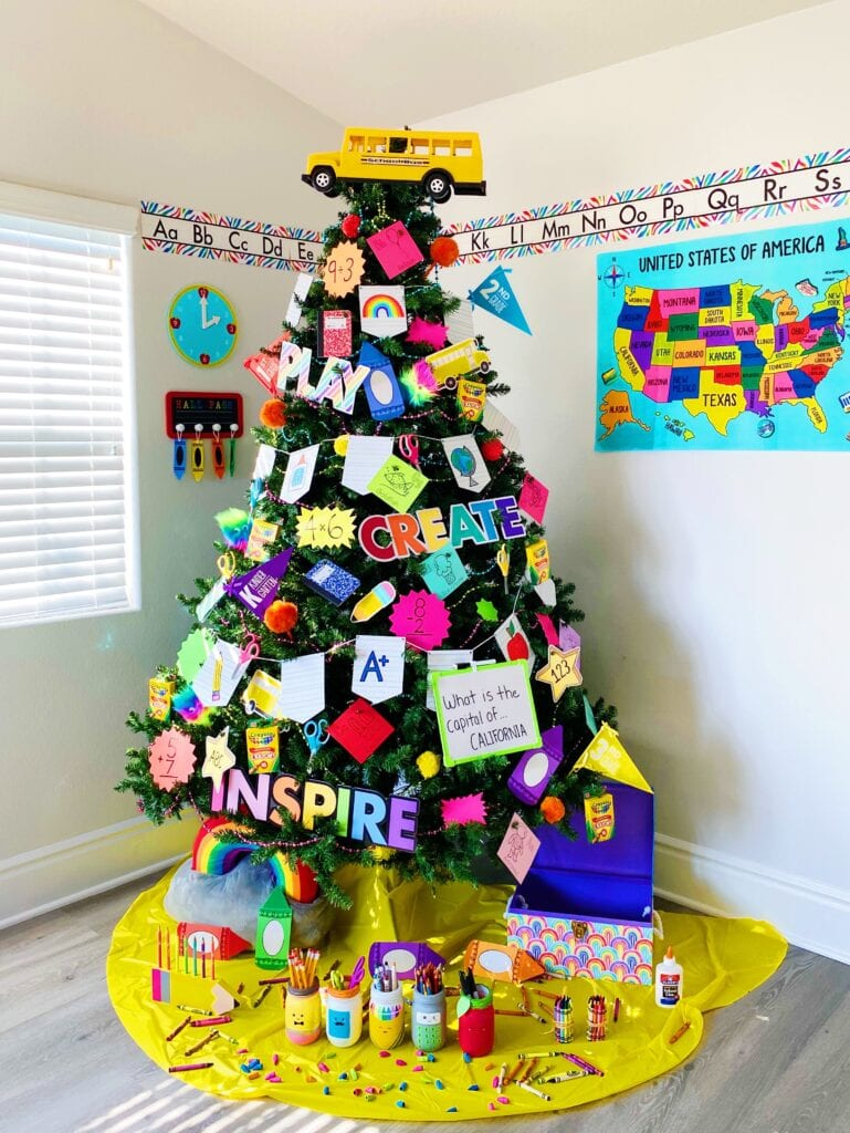 Learning Christmas Tree