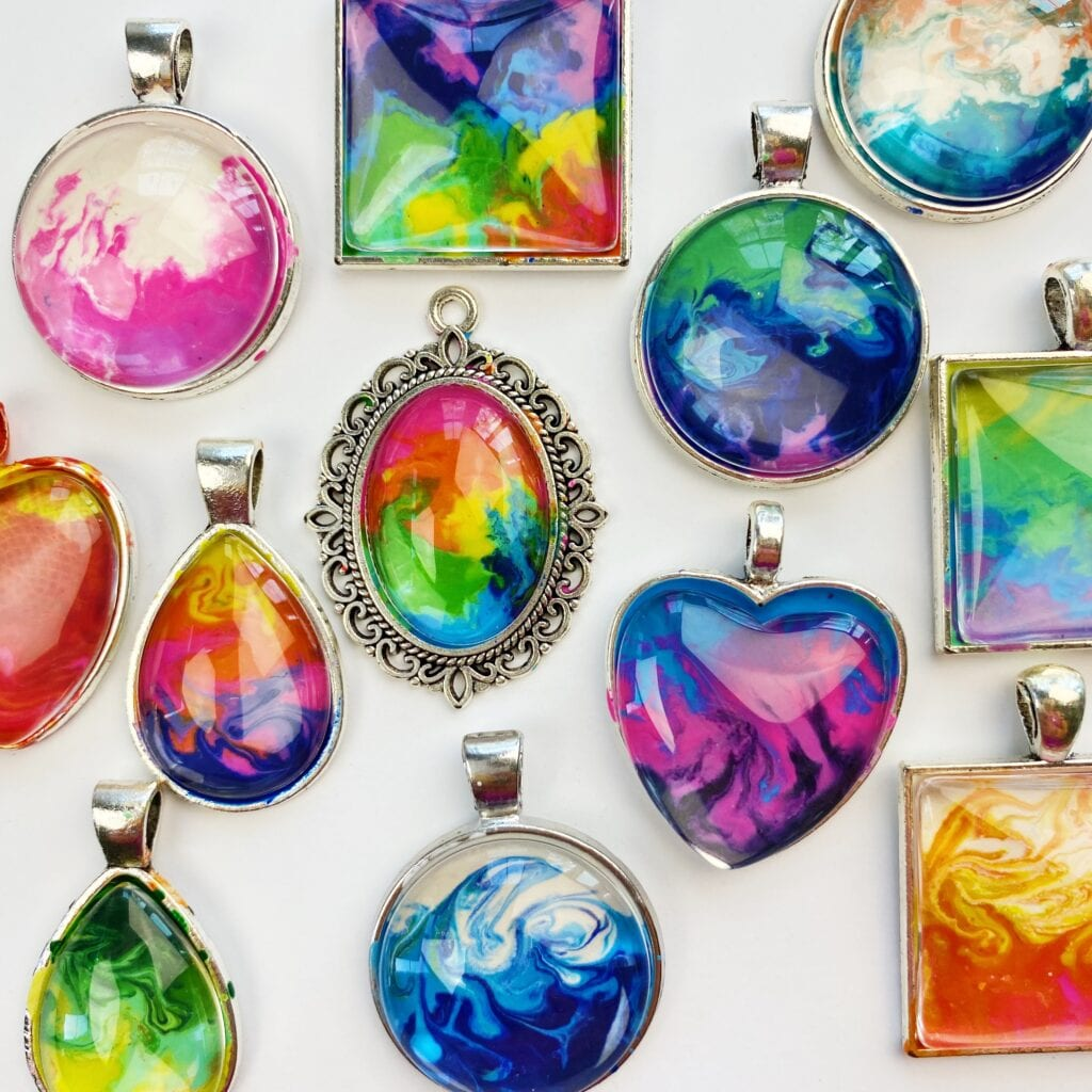 How to Make Jewelry with Melted Crayons