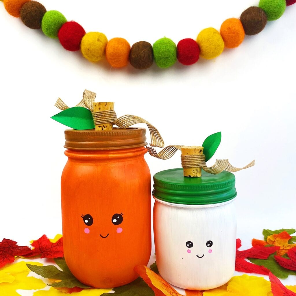 Pumpkin Mason Jar Fall Craft