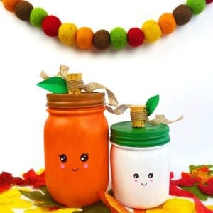 Pumpkin Mason Jar Fall Craft
