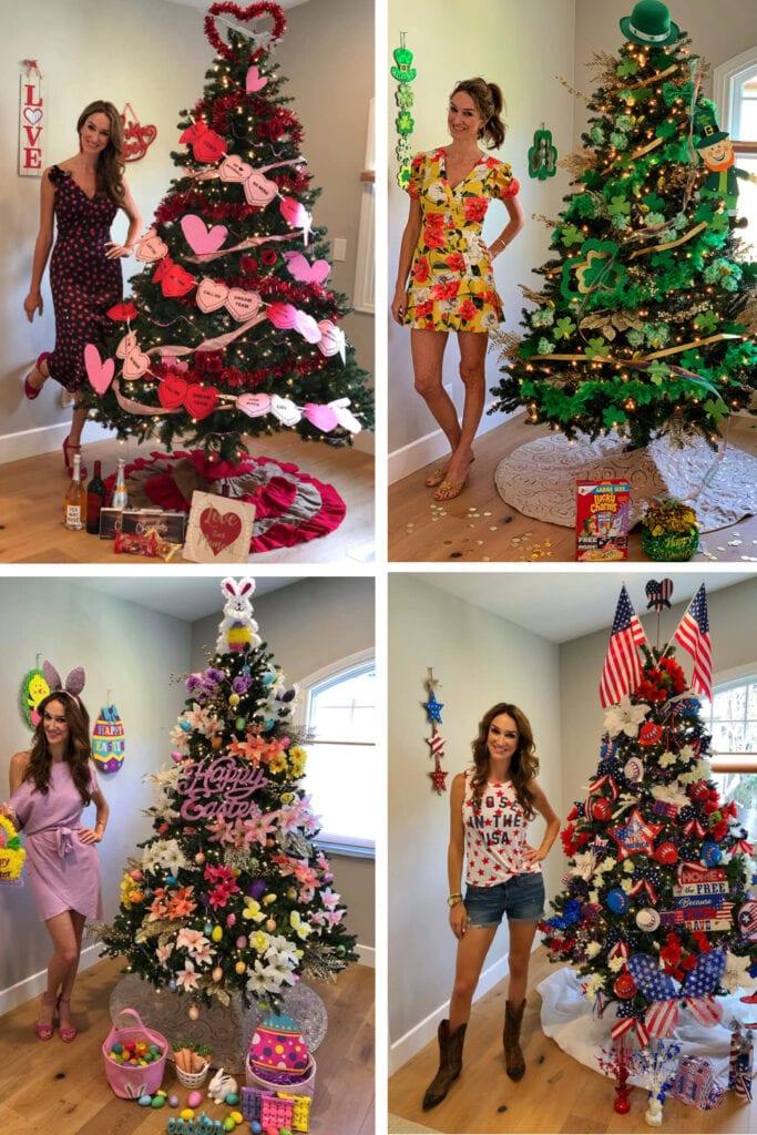 Christmas trees for all holidays