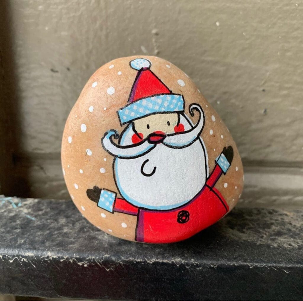 Christmas Rock Painting Ideas