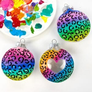 Lisa Frank Inspired Ornaments thumbnail