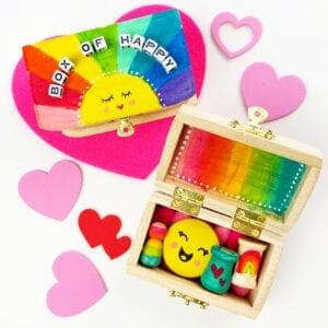 DIY Painted Box – Box of Happy thumbnail