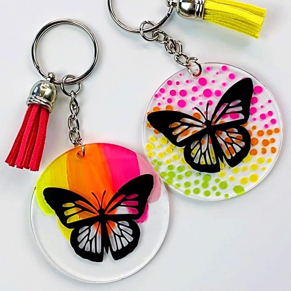 Cricut Joy Easy Keychain Project