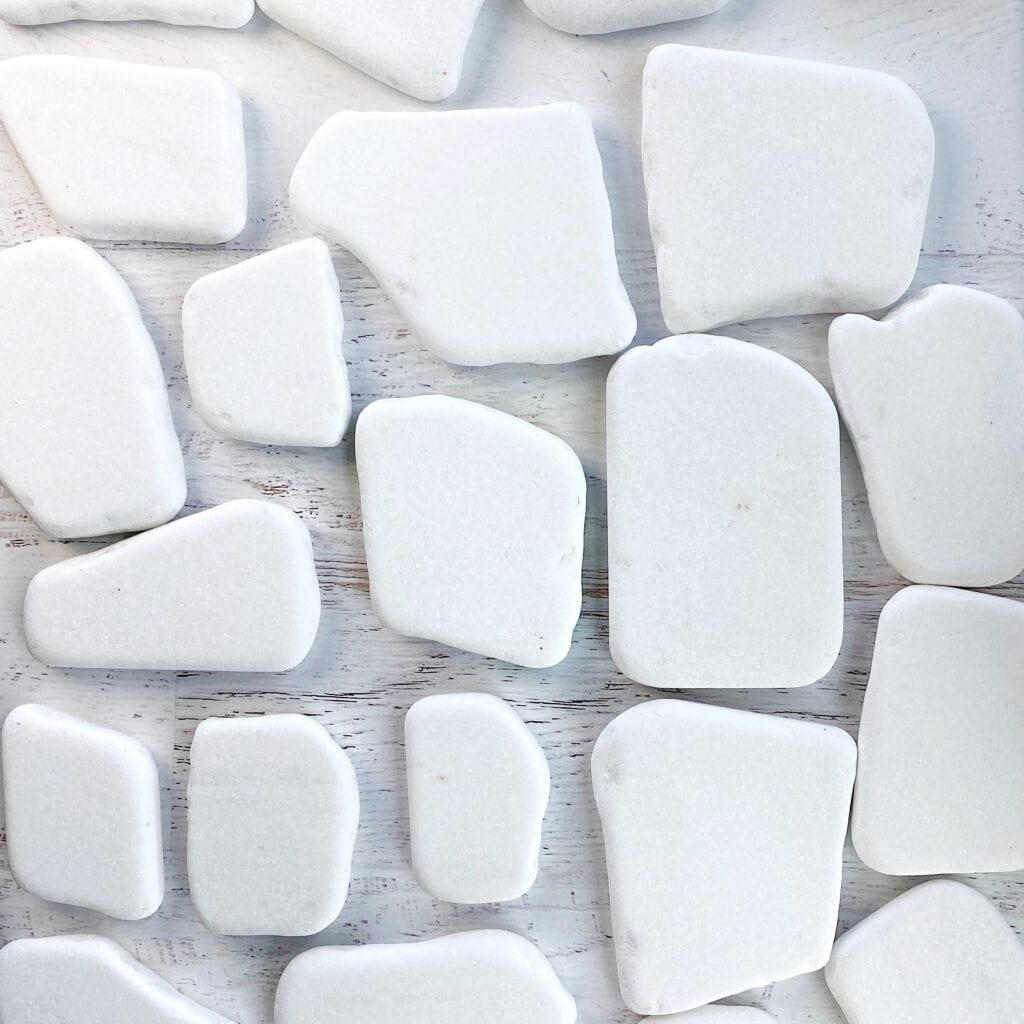White Santorini Rocks